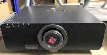 A Panasonic PT-DZ6700 WUXGA DLP Projector with standard zoom lens No.SH1462008 (located at Unit 2,