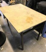 2 Trestle Tables, 48in x 30in (located at Unit 2, Dewhurst Row, Bamber Bridge, Preston,