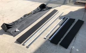 A Large Projection Screen Frame with Carry Bag (located at Unit 2, Dewhurst Row, Bamber Bridge,