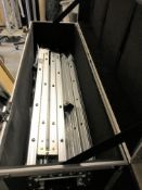 A Celexion 16:9 8ft Projection Screen and flight case, 960mm x 310mm x 410mm (located at Unit 2,