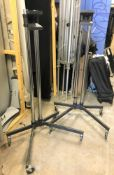 2 Unicol Mobile Heavy Duty Monitor Stands, 1.6m h (located at Unit 2, Dewhurst Row, Bamber Bridge,