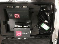 A Kramer VP-450 1:4 High Resolution UXGA Distribution Amplifier with 4 port 1:4 Duplicator Video
