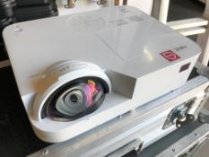 An NEC NP-M332XS DLP Projector with flight case, 620mm x 340mm x 200mm (located at Unit 2,