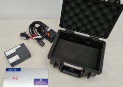 An Extron MDA 4V 1:4 HD-SDI DA Distribution Amplifier with psu and case (delivers reliably).