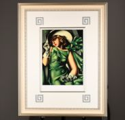 Limited Edition by Tamara De Lempicka. Supplied with Lempicka Estate (New York) Authenticated ...