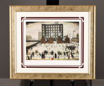 "Limited Edition L.S. Lowry. Edition ""Saturday Afternoon"""