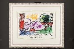 "Limited Edition Pablo Picasso. From the Marina Picasso Collection. ""Femmes Endormie"""