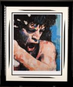 "Limited Edition by the Late Sidney Maurer. ""Get off of my Cloud"" - Mick Jagger"