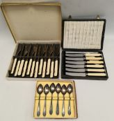 Vintage 3 Boxes of Flatware
