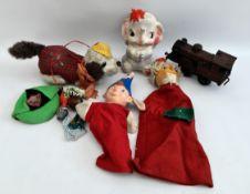 Vintage Chad Valley Noddy Glove Puppet & Others