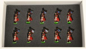 Britain's Metal Toy Soldiers Boxed Limited Edition The Pipes & Drums 1st Battalion The Royal Scots