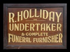 Undertakers sign