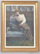 Ida Buchanan portrait of a lady 1909