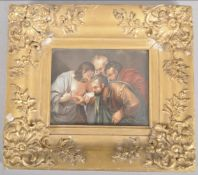 After caravaggios the incredulity of saint Thomas