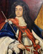 Oil painting on canvas of William III