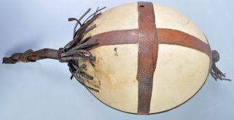 African antique ostrich egg ornament
