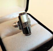 Sterling Silver 925 Dress Ring