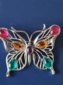 JJ Jonette Butterfly Brooch