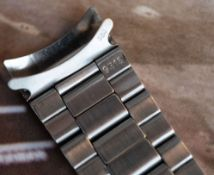 Rare Rolex 9315 Oyster Bracelet 1960s with diver expansion links, 20mm,