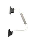 2 x white standard hand rails (zzieshrw)