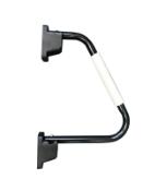 6 x black standard hand rails (zzieshrb)