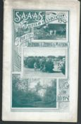 SOUTH AFRICA VISIT OF THE BRITISH ASSOCIATION 1905 TO MAFEKING Fine 20 page booklet to illustrate t