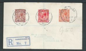 G.B. - Exhibitions 1922 (July 8) Stampless O.H.M.S. Cover addressed to No. 1 Remount Depot, Dublin,