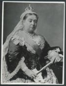 Bechuanaland 1960 Portrait of HM Queen Victoria photographed by Bassano of London from the archiv...