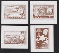 Bermuda - Essays KGVI Prints of the James Berry Essays in sepia of the 10 different designs from ...
