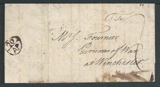 Great Britian - France 1762 PRISONER OF WAR Entire letter from Antoine Vialars, London dated 20th Ap