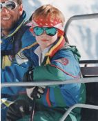 Prince Harry On Ski Holiday Austra March 1994
