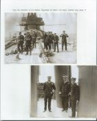 Royalty Antique Photos Taken On Board The Royal Yacht Victoria & Albert Iii Wg Stainer 5 Two Fine A