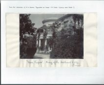 Royalty Wg Stainer Collection Paymaster On Victoria & Albert King Of Hellenes Villa Fine Antique Ph