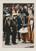 Royalty Original Press Photo Prince Charles & Princess Diana Liverpool 1993