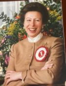 Royalty Fine Original Press Photo A Smiling Princess Anne & Save The Children Fund Fine Colour Pres