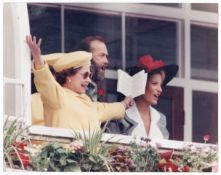 The Queen Derby Day At Epsom June 1988