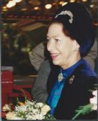 Royalty, Hrh Princess Margaret, Derby 1989 Princess Margaret Touring Derby's Indoor Market 1989.