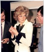 Royalty Original Press Photo Princess Diana Of Wales At The Royal Academy 1985.