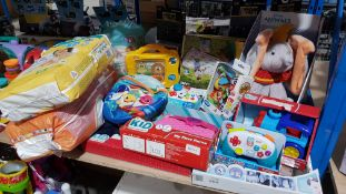 14 Items Ð To Include Disney Animals Dumbo, Fisher price Game & Learn Controller, My First Pu...