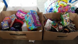 Contents Of 2 Boxes Ð Mixed Small To Inc Gigantic Box Of Craft, Mini Kit Physics, Adventure F...