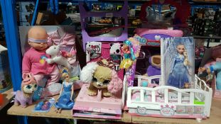 To Include My Sweet Baby Doll / Crib, Present Pets, Kid Connection My First Vanity Set & Frozen...