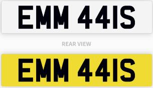 EMM 441S number plate / car registration