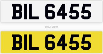 BIL 6455 number plate / car registration