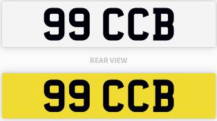 99 CCB number plate / car registration