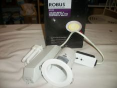 Robus 13w Fire Rated Downlight