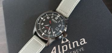 Alpina Startimer Pilot New With Box And Papers
