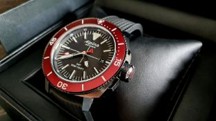 Alpina - Seastrong Diver 300 GMT Red