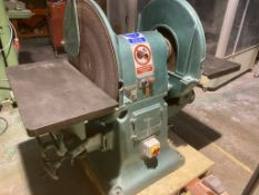 Wadkin Double Disc Sander