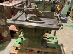 Wadkin SNR 14 inch Ripsaw