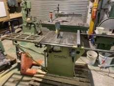 Startrite 175 Saw with Sliding Table